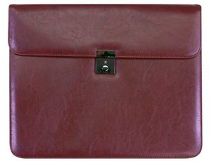 CARTERA DOCUMENTOS 45-825 MARRON 370X300 MM -CON 2 BOLSAS INTERIORES