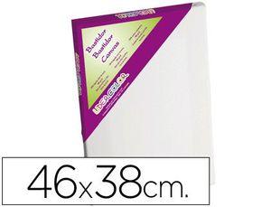 BASTIDOR LIDERCOLOR 8F LIENZO GRAPADO LATERAL ALGODON 100% MARCO PAWLONIA 1,8X3,8 CM BORDES MADERA 4