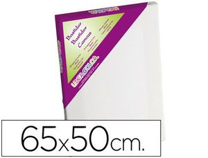 BASTIDOR LIDERCOLOR 15P LIENZO GRAPADO LATERAL ALGODON 100% MARCO PAWLONIA 1,8X3,8 CM BORDES MADERA