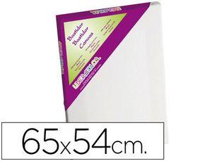 BASTIDOR LIDERCOLOR 15F LIENZO GRAPADO LATERAL ALGODON 100% MARCO PAWLONIA 1,8X3,8 CM BORDES MADERA