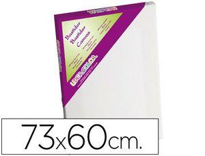 BASTIDOR LIDERCOLOR 20F LIENZO GRAPADO LATERAL ALGODON 100% MARCO PAWLONIA 1,8X3,8 CM BORDES MADERA