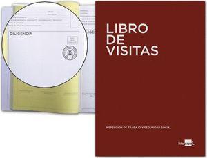 LIBRO REGISTRO VISITAS INSPECCION TRABAJO A4 100 HJ