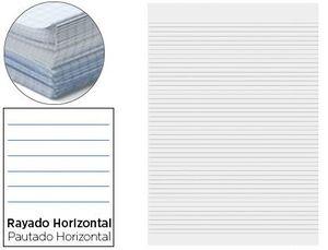PAPEL FLORETE LIDERPAPEL HORIZONTAL 60G/M2 PAQUETE DE 250