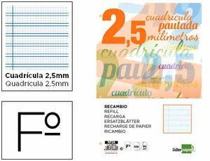RECAMBIO LIDERPAPEL Fº PAUTOGUIA 2,5