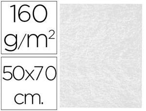FIELTRO LIDERPAPEL 50X70CM BLANCO 160 GR