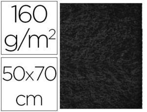 FIELTRO LIDERPAPEL 50X70 CM NEGRO 160 GR