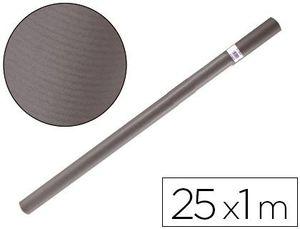 PAPEL KRAFT LIDERPAPEL GRIS 25X1 M