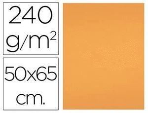 CARTULINA LIDERPAPEL 50X65 CM 240G/M2 NECTARINA PAQUETE DE 25 UNIDADES