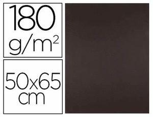 CARTULINA LIDERPAPEL MARRON 50X65 CM 180 GR PAQ 25 UD