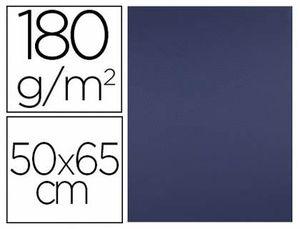 CARTULINA LIDERPAPEL AZUL ZAFIRO 50X65 CM 180 GR PAQ 25