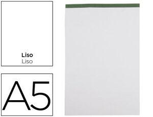 BLOC NOTAS LIDERPAPEL LISO A5 80 HOJAS 6