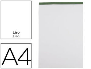 BLOC NOTAS LIDERPAPEL LISO A4 80 HJ 60 GR