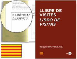 LIBRO LIDERPAPEL DIN A4 100 H REGISTRO DE VISITAS DE LA INSPECCION DE TRABAJO CATALAN