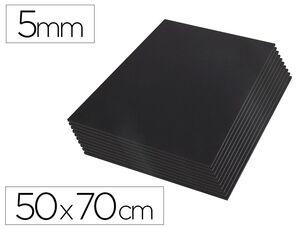 CARTON PLUMA LIDERPAPEL NEGRO 50X70 CM 5 MM