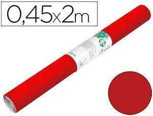 ROLLO ADHESIVO LIDERPAPEL ESPECIAL ANTE ROJO ROLLO DE 0,45 X 2 MT