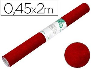 ROLLO ADHESIVO LIDERPAPEL ESPECIAL ANTE GRANATE ROLLO DE 0,45 X 2 MT