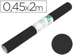 ROLLO ADHESIVO LIDERPAPEL NEGRO MATE 0,45 X 2 MT