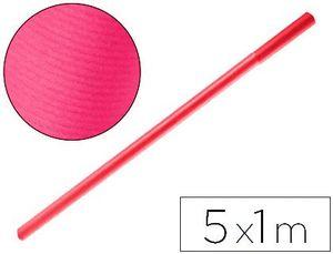 PAPEL KRAFT LIDERPAPEL FUCSIA ROLLO 5X1 M