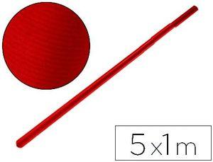 PAPEL KRAFT LIDERPAPEL ROJO ROLLO 1X5 M