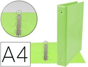CARPETA 4A 40 MM A4 PVC VERDE