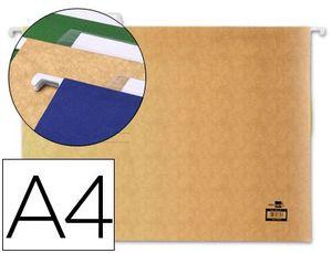 CARPETA COLGANTE LIDERPAPEL A4 KRAFT PACK 10 UD
