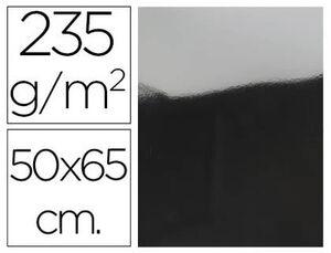 CARTULINA METAL PLATA 50X65 235 GR