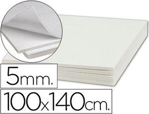 CARTON PLUMA LIDERPAPEL ADHESIVO 1 CARA 100X140 CM 5 MM