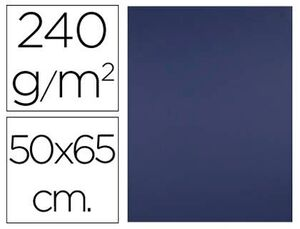 CARTULINA LIDERPAPEL 50X65 CM 240 GR AZUL ZAFIRO