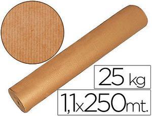 PAPEL KRAFT MARRON 1,10 MT X 250 MTS ESPECIAL PARA EMBALAJE