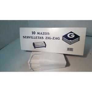 SERVILLETA ZIG-ZAG RETRACTIL 10 UD