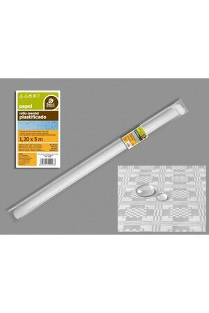 ROLLO MANTEL BLANCO 5X1.20M