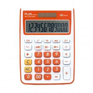 CALCULADORA PLUS SS-COLOR 1 NARANJA