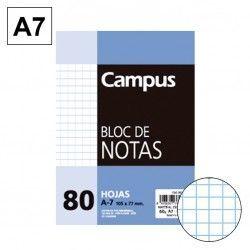 BLOC NOTAS MICROPERFORADO CUADRICULADO 4MM A7 80 HJ 60 GR