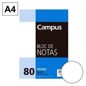 BLOC NOTAS MICROPERFORADO LISO A4 80 HJ 60 GR