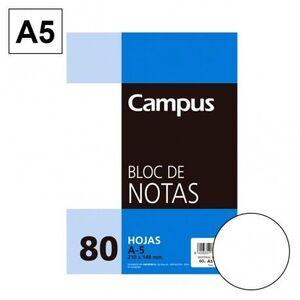 BLOC NOTAS MICROPERFORADO LISO A5 80 HJ 60 GR