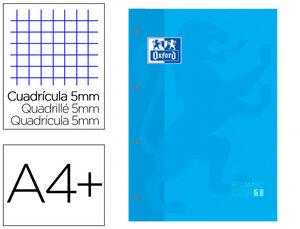 RECAMBIO COLOR OXFORD AZUL CLARO A4 5X5 MM 80 HJ