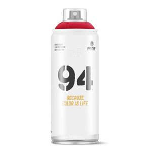 SPRAY PINTURA MTN 94 RV-3001 ROJO VIVO 400 ML