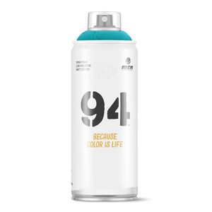 SPRAY PINTURA MTN 94 RV-5018 TURQUESA 400ML