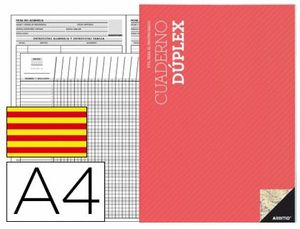 BLOC DUPLEX ADDITIO A4 EVALUACION CONTINUA Y TUTORIA CATALAN