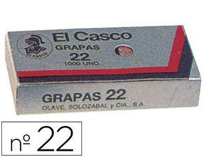 CAJA 1000 GRAPAS EL CASCO 22