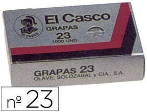 CAJA 1000 GRAPAS EL CASCO 23
