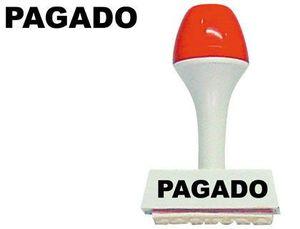 SELLO CAUCHO FRAMUN PAGADO