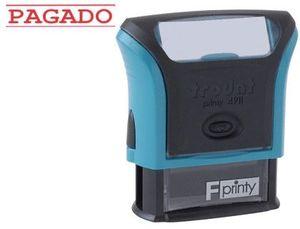 SELLO ENTINTADO PAGADO PRINTY 4911 F5 P3