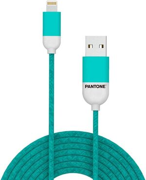 CABLE LIGHTNINIG USB 1M TURQUESA APPLE MFI