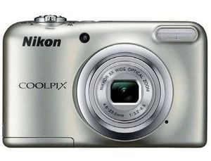 CAMARA DIGITAL NIKON COOLPIX A10 PLATA 16.1 MPX ZOOM OPTICO 5X GRABA VIDEO HD 720P 2 PILAS AA CON FU