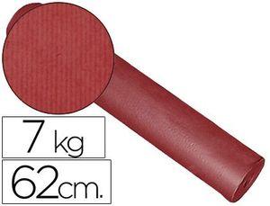 PAPEL FANTASIA KRAFT LISO KFC -BOBINA 62 CM -7 KG -COLOR BURDEOS