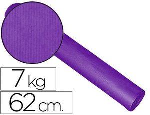 PAPEL FANTASIA KRAFT LISO KFC-BOBINA 62 CM -7 KG -COLOR LILA