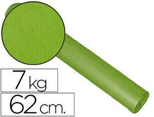PAPEL FANTASIA KRAFT LISO KFC BOBINA 62 CM -7 KG -COLOR PISTACHO