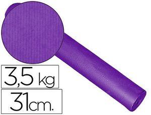 PAPEL FANTASIA KRAFT LISO KFC-BOBINA 31 CM -3,5 KG -COLOR LILA