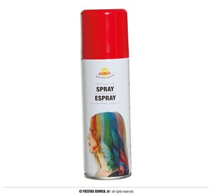 BOTE SPRAY FLUOR 125ML. ROJO